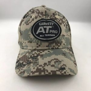 Garret AT Pro All Terrain Camo Hat Metal Detecting